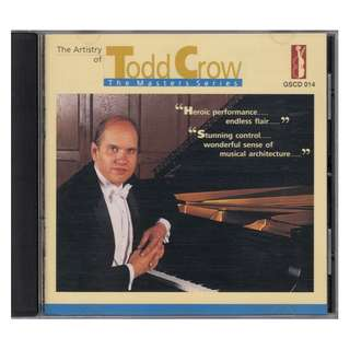 <The Artistry of Todd Crow> 24K Gold Audiophile CD (Made in Japan)