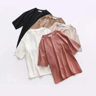 [PO] Basic Oversized Tee / T Shirt