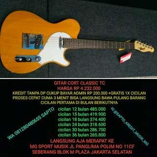 Gitar Cort Classic TC cicilan tanpa dp dan gratis 1x cicilan