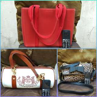Authentic Bags from US (Juicy Couture Cole Haan Betsey Johnson)
