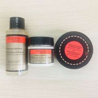 Christophe Robin Hair Mask/Balm/Shampoo