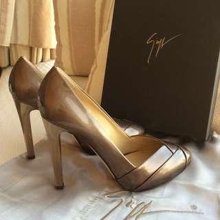 Giuseppe Zanotti   patent leather heel platform pump  @Size 37  #Made in Italy