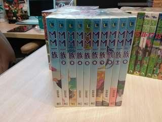 輕小說 MM一族 1-9期 連8.5期 松野秋鳴作品 東立出版