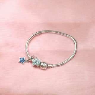 Pandora 潘朵拉手鍊一組含串珠