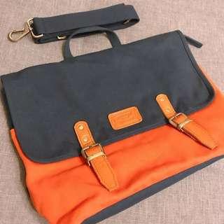 Thailand🇹🇭yesterday/today/tomorrow orange&blue bag 💼