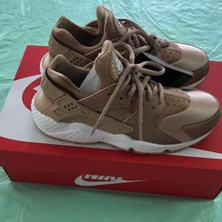 Authentic Nike Huarache Rosegold