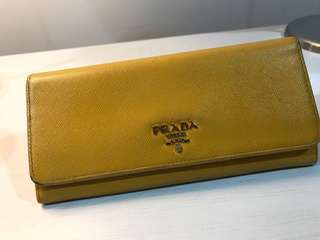 💥REDUCED 💥Authentic Prada Long Wallet