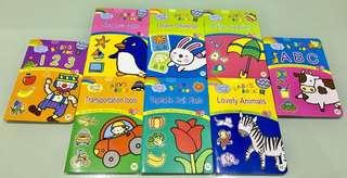8 Series Baby Book , 印刷精美清晰、內容豐富,附有中英文,可以用水筆在書上練習寫字, 仲可以寫完擦咗再寫,送禮或自用都一流