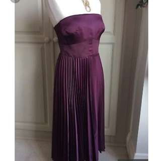 aubergine dress  KAREN MILLEN