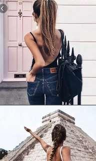 Bareback bodysuit