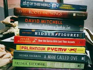 All books at P300 each, shipping included if within Metro Manila
