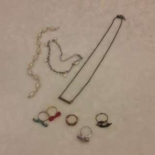 Assorted accesories