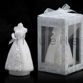 ED18031 WEDDING GOWN CANDLE