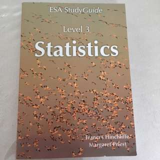 Statistics ESA Study Guide Level 3 || 2017