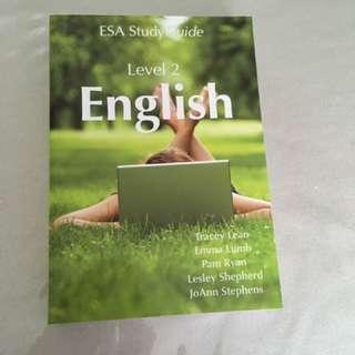 English ESA Study Guide Level 2 || 2017