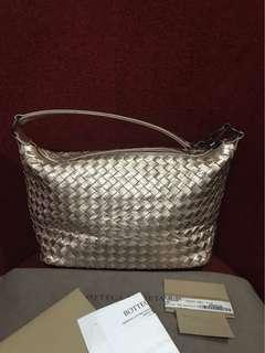 BV small shoulder bag pink metallic 2016 complete set with rec
