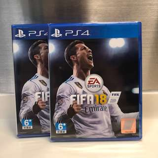 SALE: BNIB FIFA 18 PS4