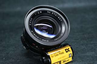 ~🏆 vivitar 24mm f 2.8 wide angle vintage camera lens made by tokina tx md mount tested working