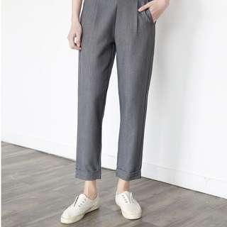 💕氣質簡約西裝料直筒9分褲,cutting好顯瘦,車工細膩 $199