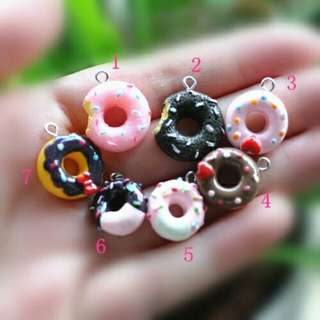 Donut Charms Kawaii Cute
