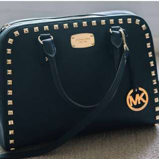 *UPDATED PRICE* Authentic Michael Kors Blue Leather Bag