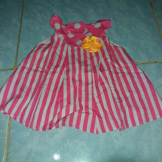 #MakinTebel dress baby
