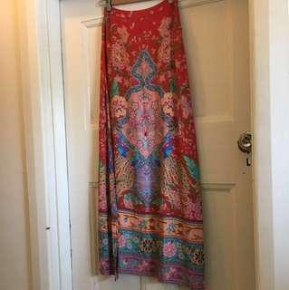 🍃Spell Split skirt Lotus Maxi Skirt bnwot 🌹rrp $199 XS