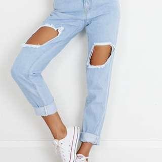 Showpo Daria Jeans RRP 70