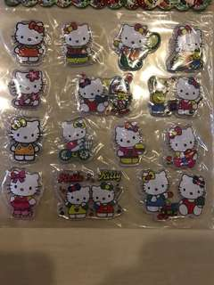 Hello Kitty POP-UP Jelly Stickers