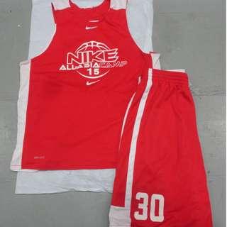Nike All Asia Camp 2015 雙面球衣褲 波衫褲
