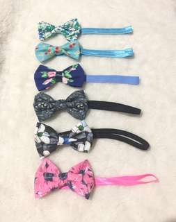 SALE!!! bows headband 3pcs