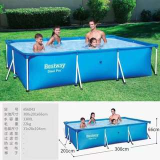 Best way swimming pool
