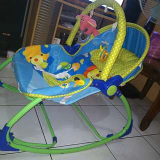 Bouncher pliko rocking chair bisa ayunan