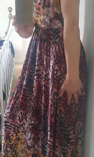 Maxi dress 1 size fits all