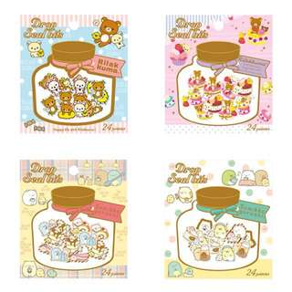 San-X Sumikko Gurashi And Rilakkuma Flake Sticker