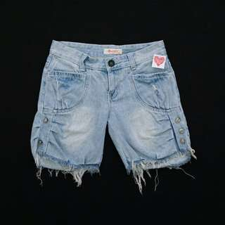 Ripped Short Jeans #123moveon