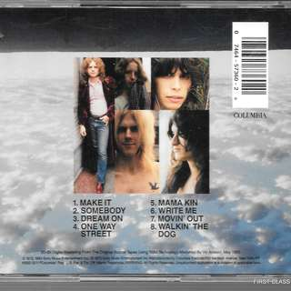 MY PRELOVED CD =  AEROSMITH - /FREE DELIVERY (F7H))