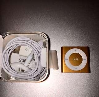 Ipod Shuffle Gold (4th Gen)