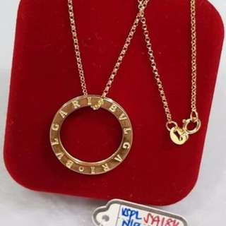 BLV 18K SAUDI GOLD NECKLACE