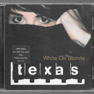 MY PRELOVED CD - TEXAS WHITE ON BLONDE /FREE DELIVERY (F7H))