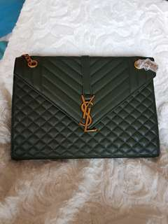Ysl bag genuine leather