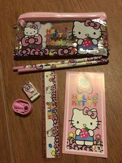 Hello Kitty Pencil Case & Stationery for Children's Party Gift
