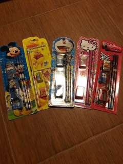 5-in-1 Pencil Stationery set for Children's Party Gift