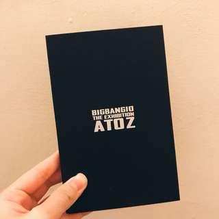 BIGBANG 十週年 ATOZ 明信片套組