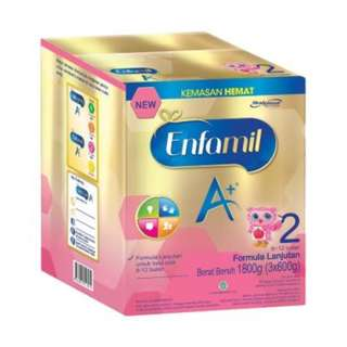 Enfamil A+2 1800 gram