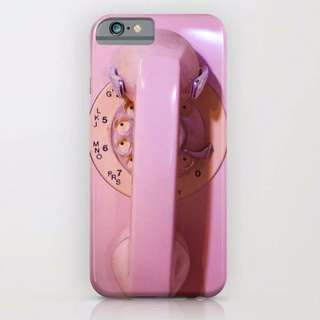CUSTOM CASE PINK PHONE