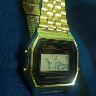 Casio Gold watch Original vintage A159