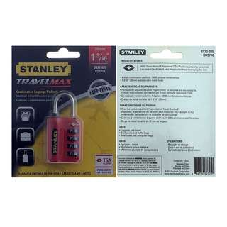 Stanley Travelmax Combination Padlock