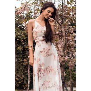 BN TCL Leith Floral Maxi Dress