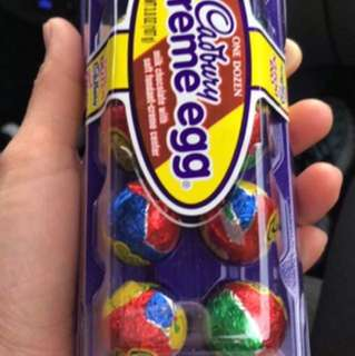 Cadbury egg milk chocolate 1dozen